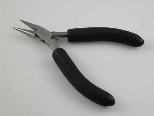 Chain Nose Pliers with Foam Grips